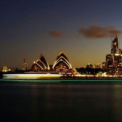 Sony Nex Nex5n Skopar 21mm sydney sydneycbd australia night nightphotography longshutter operahouse kirribilli Cities At Night