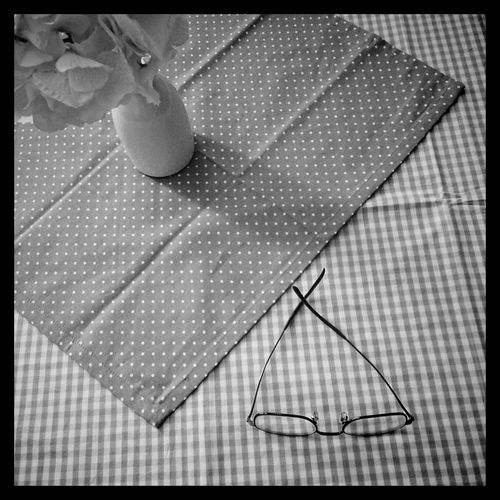 Feierabend Blackandwhite Interior Design Glasses At Home Pattern Pieces