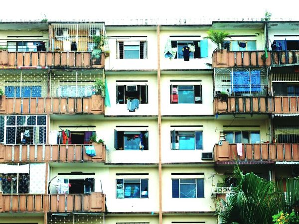 Window Architecture Building Exterior Built Structure Day Outdoors Malaysia City Balcony City Life