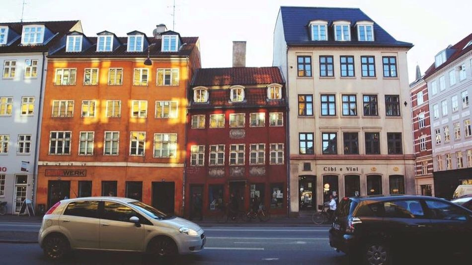 Car Architecture City Street Road Colourful Houses Europe Trip Solotraveler