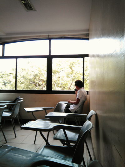 The Photojournalist - 2016 EyeEm Awards Alone Guy Looking At The Window No Class