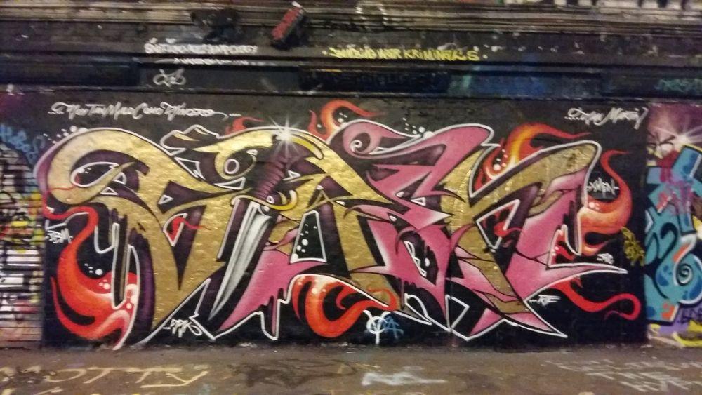 LONDON❤ United Kingdom Street Art Leake St Colour Of Life Urban Exploration Art, Drawing, Creativity Artistic Expression London Lifestyle My Year My View EyeEm LOST IN London