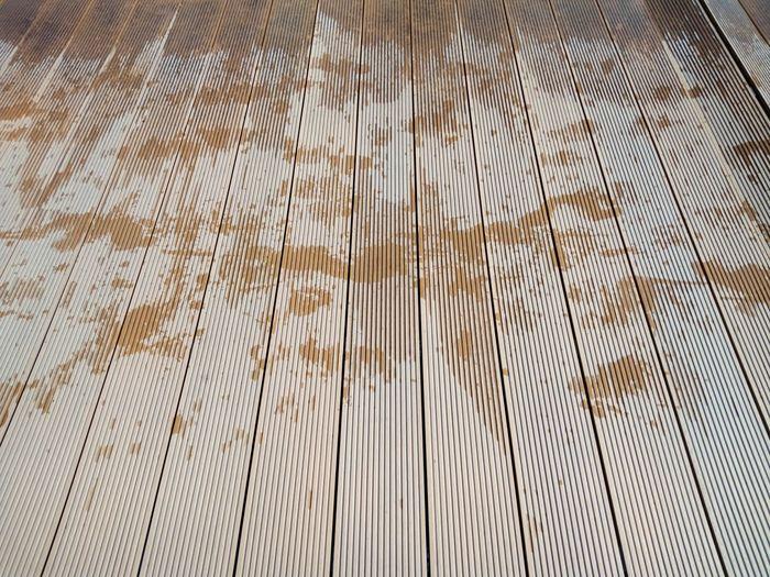 Wet wooden