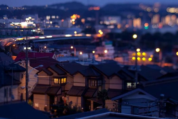 Town Hometown City Night Japan Tokyo Life Normal Day Go Home
