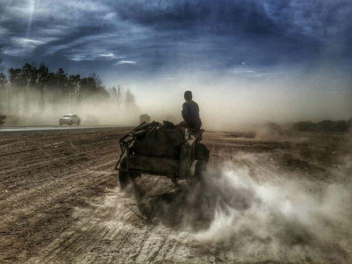 Zonda Wind Duststorm Photojournalism Storytelling Mendoza Argentina Argentina