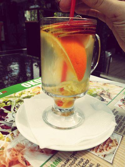 Имбирный чай - неймоверно вкусно и очень полезно! First Eyeem Photo