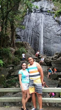 In the Yunque water cool...