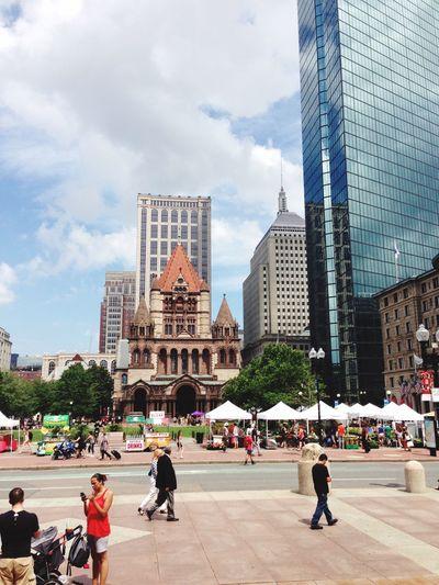 Boston The Longest Building