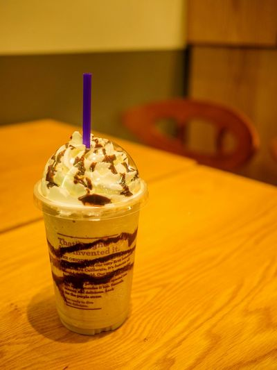 That's right. We invented it. Coffeebeanandtealeaf Ice Blended Seoul Seocho Coffee
