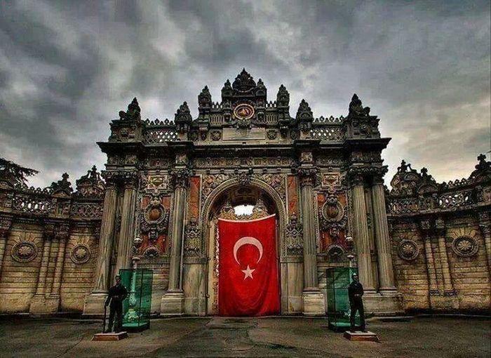 Dolmabahçe Sarayı Turk I Love Turkey