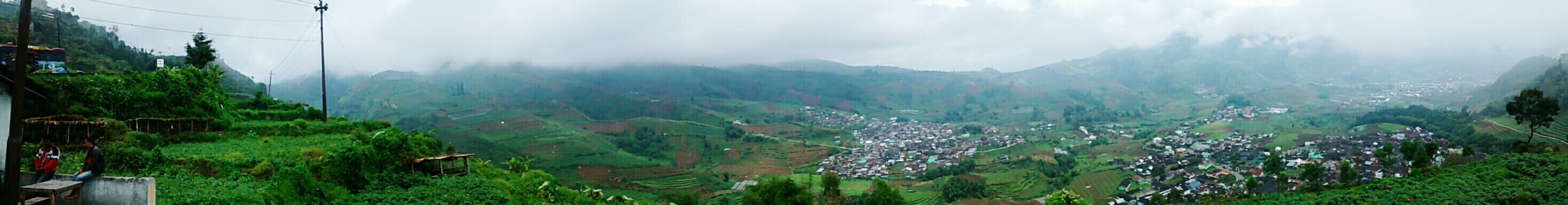 The view in Tieng, Wonosobo. 1789m above the sea level in my town. Taken with motorola moto g camera (panorama). Location : Dieng, Indonesia Wonosobo Eyeemindonesia EyeEm Nature Lover Mountain Nature Panoramic View