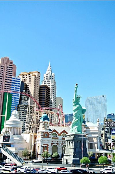 Summer2015 Throwback New York Las Vegas Cityscapes Hotel Statue Of Liberty USA Memories View SinCity