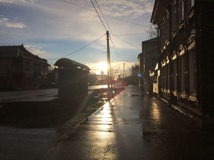 После дождя всегда хорошо, но вовремя него не очень, особенно когда идёт ливень Дождь Мариинск First Eyeem Photo