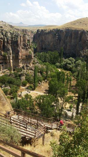 İhlara Valley ıhlara Vadisi Nature Landscape Growth Scenics Tree No People Outdoors Beauty In Nature Vacations Day Sky