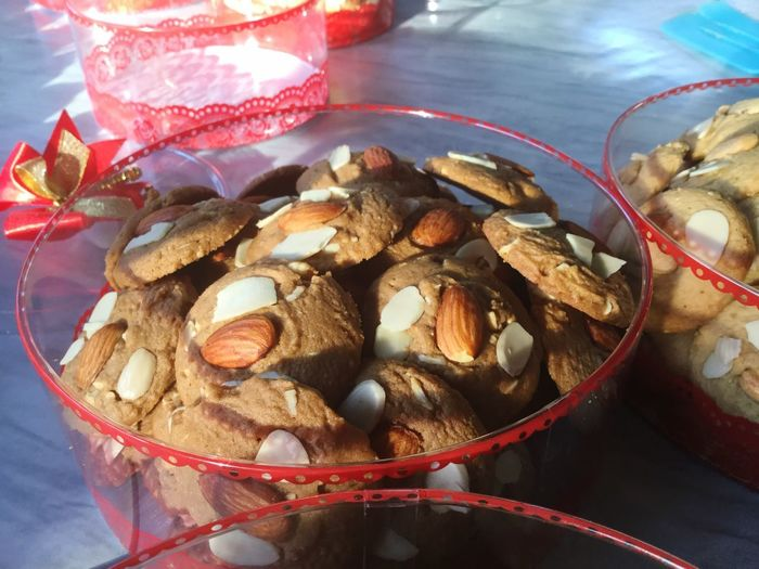 Coffee cookies Coffeecookies Cookies Food Food And Drink Still Life Indoors  Freshness No People Table Close-up Container Bowl Christmas Nut