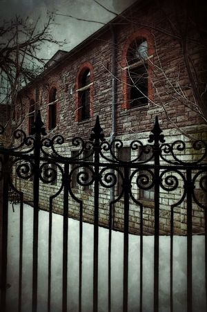 The Dark Landscape Collabs_Unlimited BOB Brick Old Building Fence Finial Friday