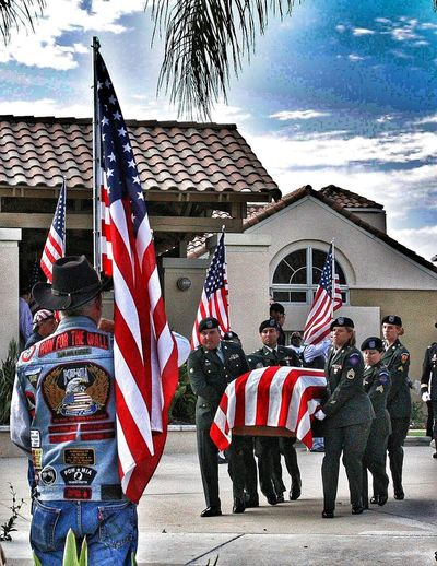 The Journey Is The Destination going on the last journey home Fine Art Share A Photograph Questions Of Life Journey Of Life Concrete Military Military Funeral Military Church Flag Line Life Is A Journey Travel Destinations Traveling Alone Military Family Broken