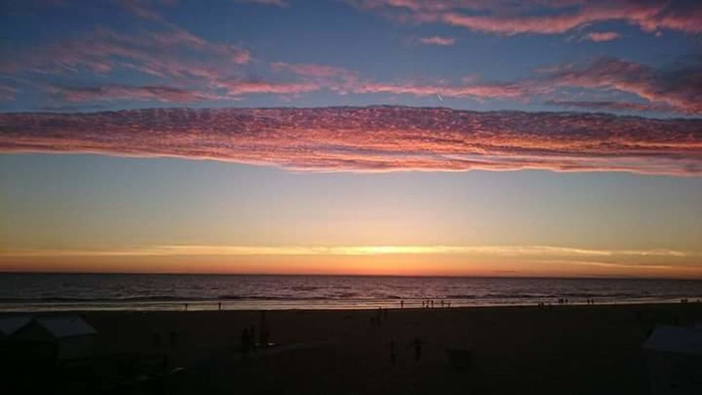 Coucher De Soleil Mer Plage Berck Plage Beach Sea Sunset