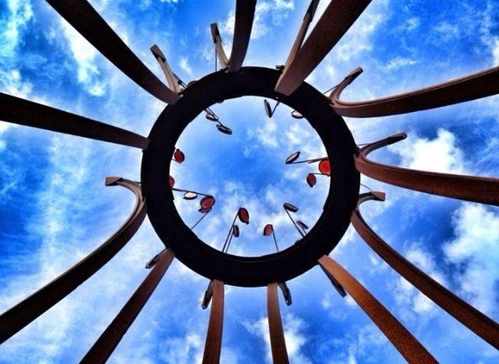 Blue Sky Sculpture Sky_collection Light It Up Blue