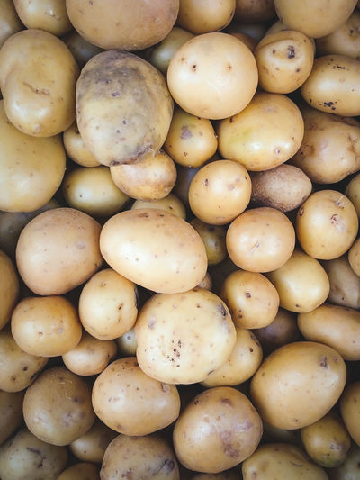 Abundance Background Backgrounds Close-up Food Food And Drink For Sale Healthy Eating Ingredient Market No People Potatoes Produce Retail  Wholesale Farmer's Market