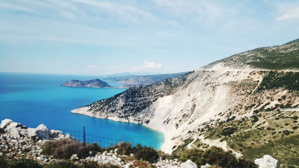 Mountain Sea Nature Outdoors Day Beach Water Beauty In Nature Landscape Scenics Tree Horizon Over Water Tranquility Nature Kefalonia, Greece Sky Your Ticket To Europe The Week On EyeEm EyeEmNewHere Been There. Done That. Lost In The Landscape Second Acts