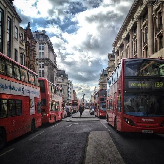 Streetphotography Clouds And Sky Oxford St Great Views