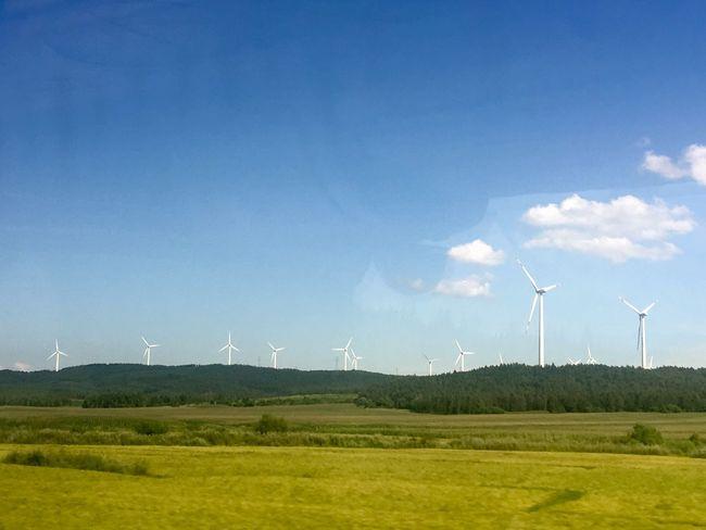 hometown Wind Power Landscape