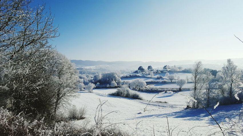 Sunny Winter Day Nordhessen Frosty Mornings Ilovewinter