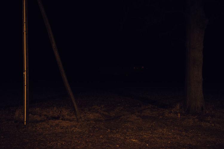 Scenic view of night