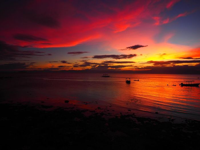 Moalboal Philippines Sunset