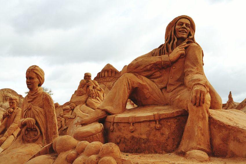 Sand Sand Sculpture Sand Sculpture Park Sand Sculptures