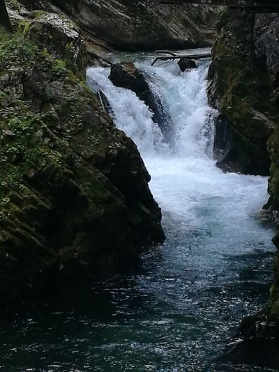 Water Waterfall Sky