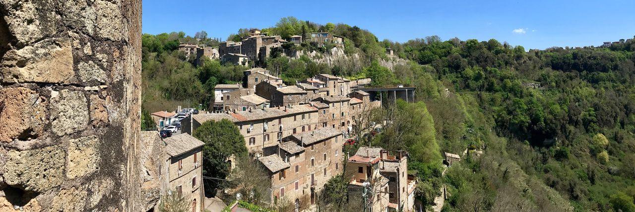 Calcata, il borgo degli artisti Architecture Sunlight Day Tourism Village Borgo Antico Borghipiúbelliditalia Italy Italia Travel Traveling