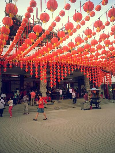 Chinese New Year 2014 Temple