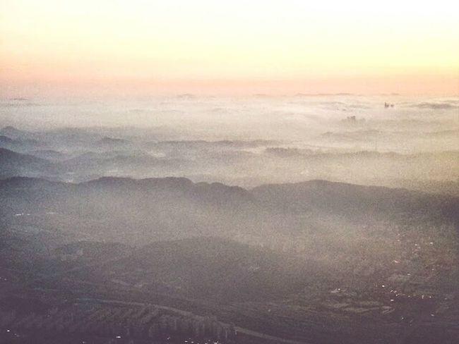 the skyline of Seoul, Korea. Skyline Beautiful Smog Flying The Environmentalist – 2014 EyeEm Awards