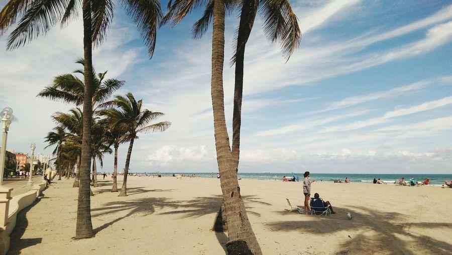 Hollywood beach, Florida Taking Photos