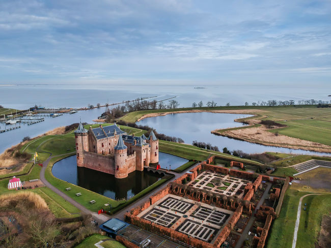 Muiderslot Muiden Muiden Castel Drone  Drone Photography Dronephotography