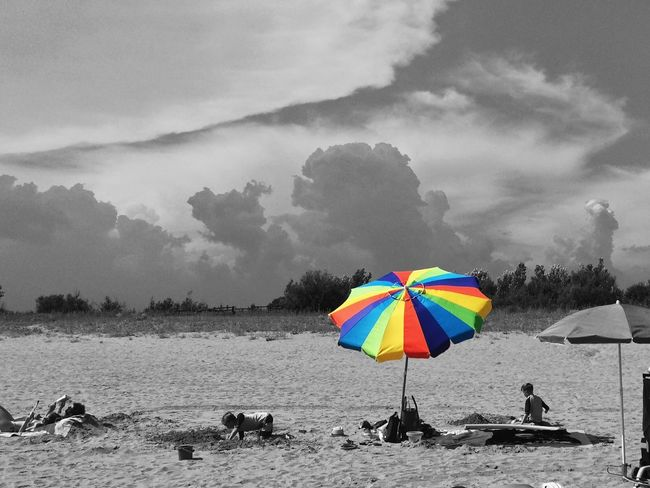 Rainbow colors Beach Malephotographerofthemonth Colorsplash EyeEmSwiss