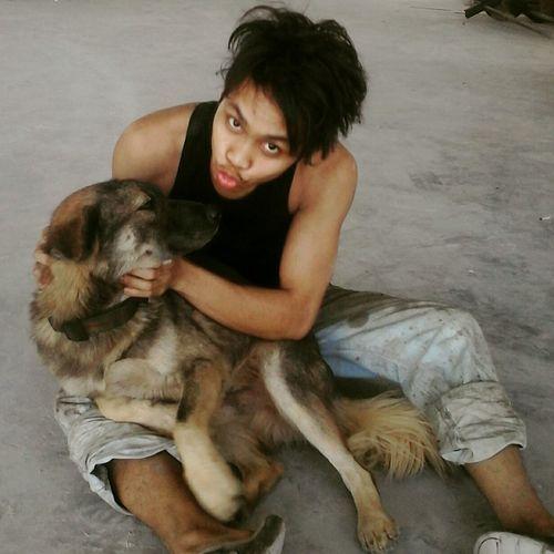 My dog lucky Animal Love followme First Eyeem Photo