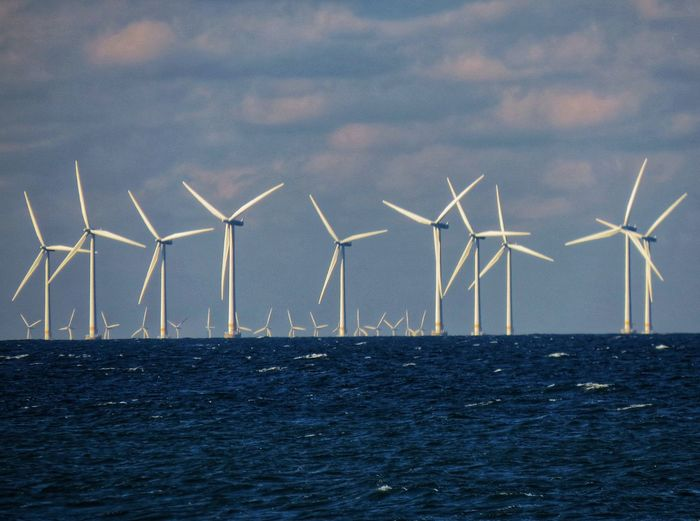Renewable Energy Alternative Energy Fuel And Power Generation Environmental Conservation Turbine Wind Turbine Wind Power Environment Sustainable Resources Horizon Over Water Electricity  Technology Sea