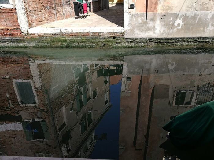 Venice, Italy Sea Water Reflection Window Built Structure City Water Surface EyeEmNewHere