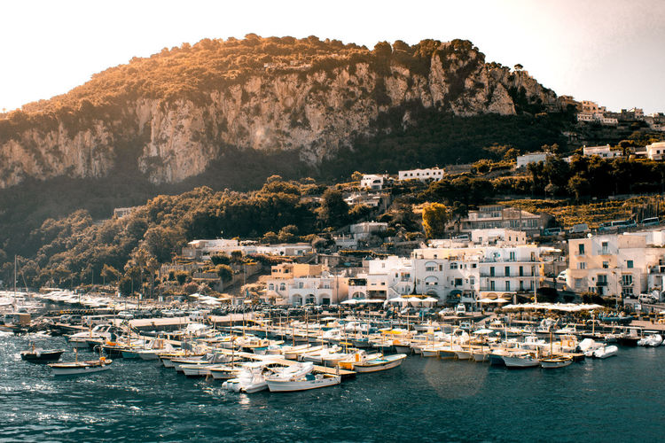 View of Capri