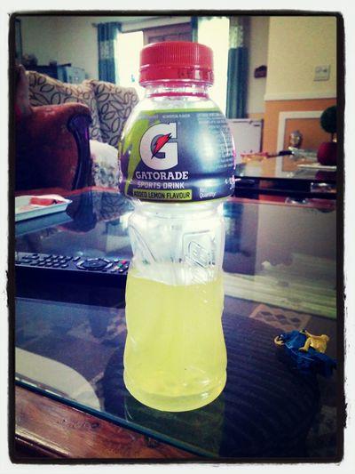 Afternoon Drinking Gatorade First Eyeem Photo