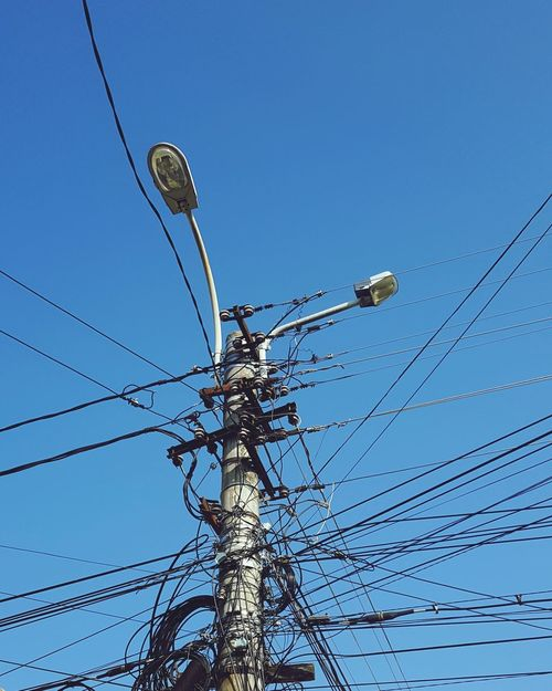 Wires Wire Wired Technology Telephone Line Electricity  Cable Fuel And Power Generation Electricity Pylon Power Supply Blue Power Line  Sky Network Connection Plug Exchanging Connection Block Electric Plug