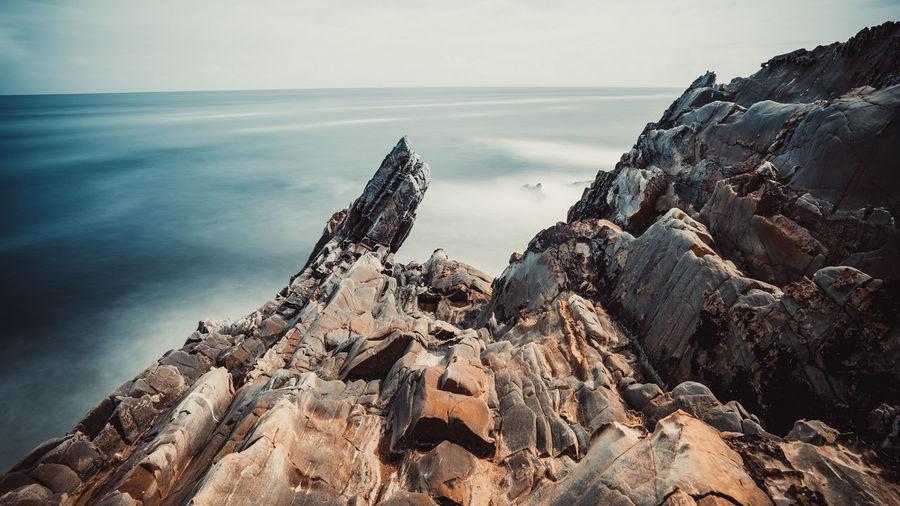 Sea Water Rock