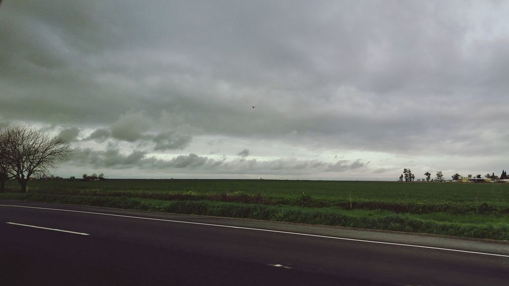 Clouds And Sky Rainy Days Road Scenery
