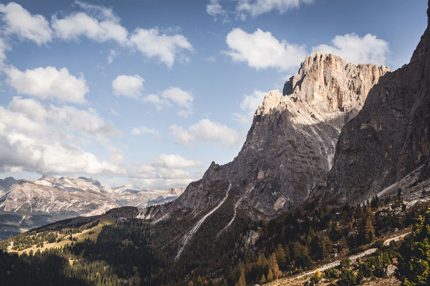 The mountain series / Canon 5d / 35mm Beauty In Nature Cloud - Sky Day Environment Formation Height High Horizon Land Landscape Mountain Mountain Peak Mountain Range Nature No People Non-urban Scene Outdoors Range Remote Rock Scenics - Nature Sky Tranquil Scene Valley