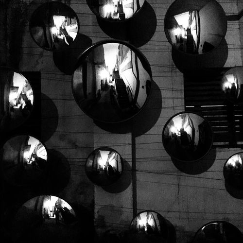 Indoors  Lighting Equipment Low Angle View Illuminated No People Electricity  Modern Day Architecture IPhone Photography The Week On EyeEm BW Collection