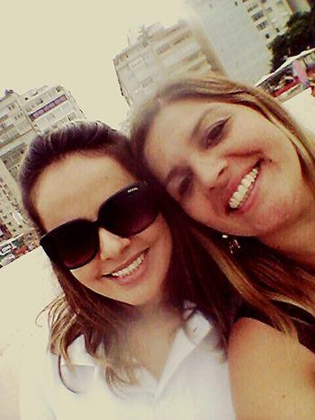 Praia de Copacabana...