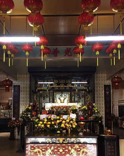 Budha Temple Flower Illuminated Plant Flowering Plant Architecture Lighting Equipment No People Flower Arrangement Event Arts Culture And Entertainment Arrangement Decoration Indoors  Celebration Built Structure Nature Holiday Ceiling Religion Belief